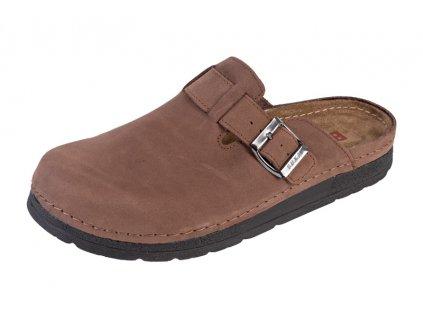 Pánska Zdravotná obuv BZ420 - Tmavý Nubuk