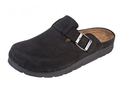 Pánska Zdravotná obuv BZ420 - Čierny Nubuk