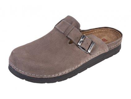 Pánska Zdravotná obuv BZ420 - Sivý Nubuk