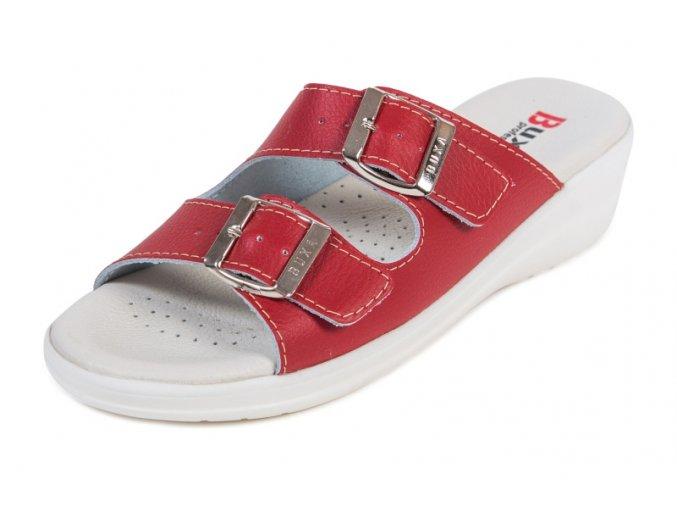 medicínska obuv MED15 červená