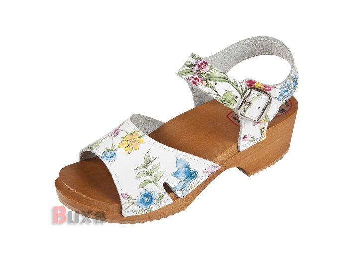 Detské Dreváky Sandálky DZSN Kvetové