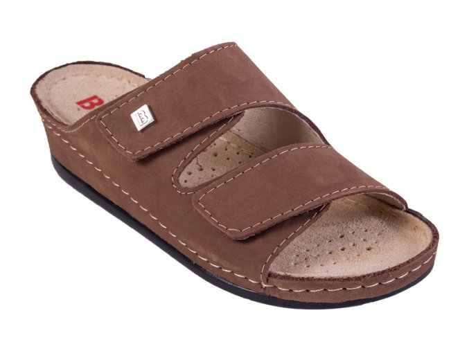 Zdravotná obuv BZ210 Svetlý Nubuk