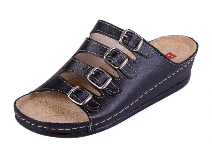 Zdravotná obuv BZ220 - Čierna