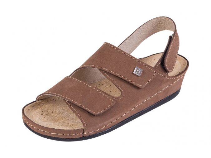 Zdravotná obuv BZ215 - Svetlý Nubuk