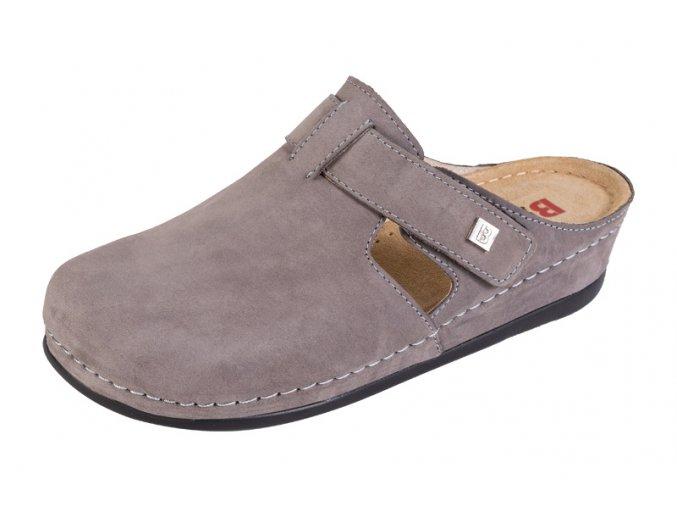 Zdravotná obuv BZ240 - Sivý Nubuk