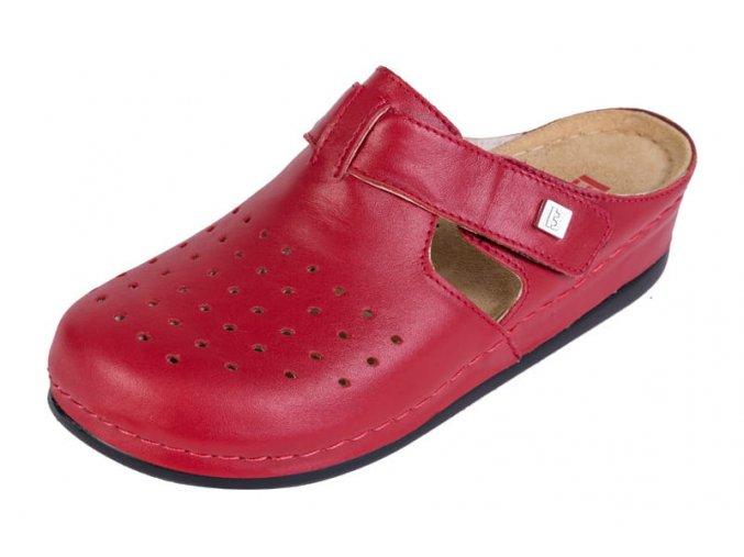 Zdravotná obuv BZ241 - Červená