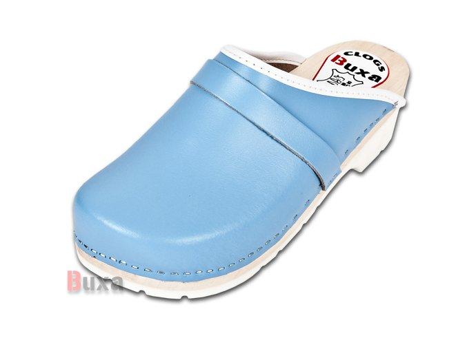 Dreváky Na Gumenej Podrážke Komfort FPU1 Modré