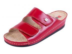 Zdravotná obuv BZ210 - Červená