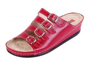 Zdravotná obuv BZ220 - Červená