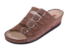 Zdravotná obuv BZ220 - Svetlý Nubuk