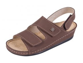 Zdravotná obuv BZ215 - Tmavý Nubuk