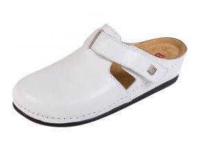 Zdravotná obuv BZ240 - Biela