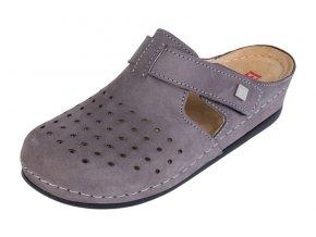 Zdravotná obuv BZ241 - Sivý Nubuk