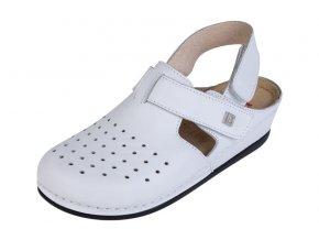 Zdravotná obuv BZ241p - Biela