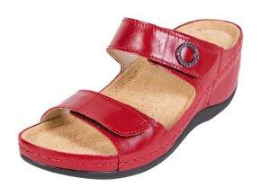 Zdravotná obuv BZ310 - Červená