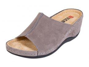 Zdravotná obuv BZ320 - Sivý Nubuk