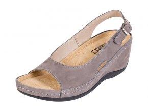 Zdravotná obuv BZ330 - Sivý Nubuk
