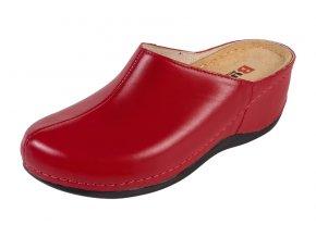 Zdravotná obuv BZ340 - Červená