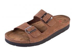 Pánska Zdravotná obuv BZ410 - Svetllý Nubuk