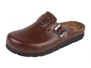 Pánska Zdravotná obuv BZ420 - Hnedá