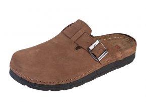 Pánska Zdravotná obuv BZ420 - Svetlý Nubuk
