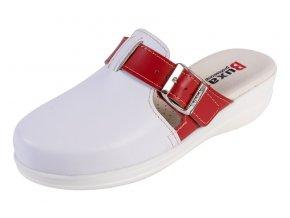 Medicínka obuv MED20 - Bieločervena