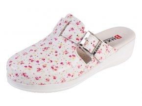 Medicínka obuv MED20 - Kvietkovaná