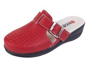 Medicínka obuv MED21 - Červenočierna