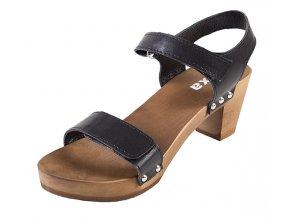 Sandále Na Vysokom Opätku OD15 Čierne