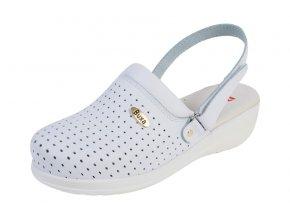 Medicínka obuv MED11p Biela