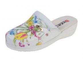 Medicínka obuv MED10 Kvetová