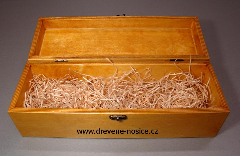 dřevěný box na víno