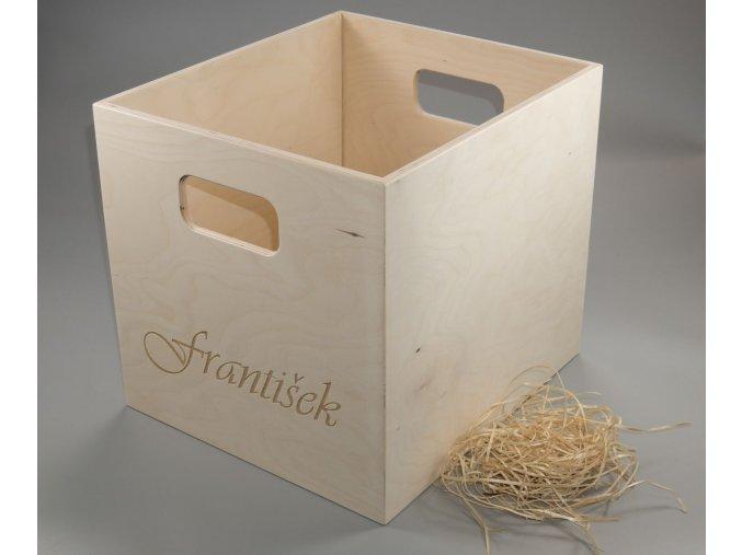 úložný box, pro KALLAX se jménem