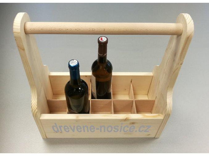 Nosič na víno, 10 ks