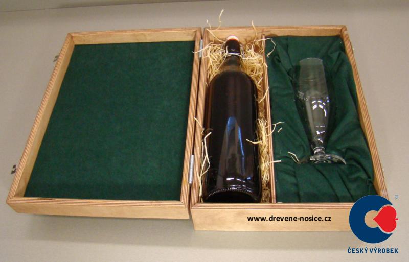 Dárková krabička se sklenicí na pivo odstín: bez povrchové úpravy