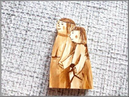 1691 dreveny betlem postavicky