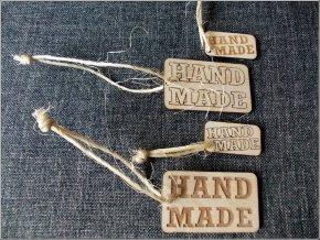 2117 visacka cedulka hand made