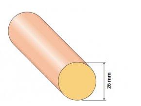 Tyčka Ø 26 mm