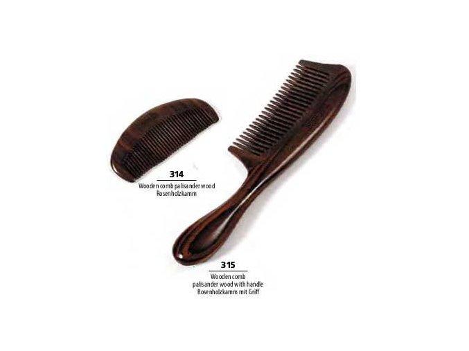 MAGNUM hřeben dřevěný - palisandrové dřevo