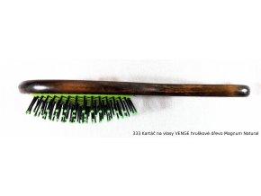 333 Kartáč na vlasy VENGE hruškové dřevo Magnum Natural 1
