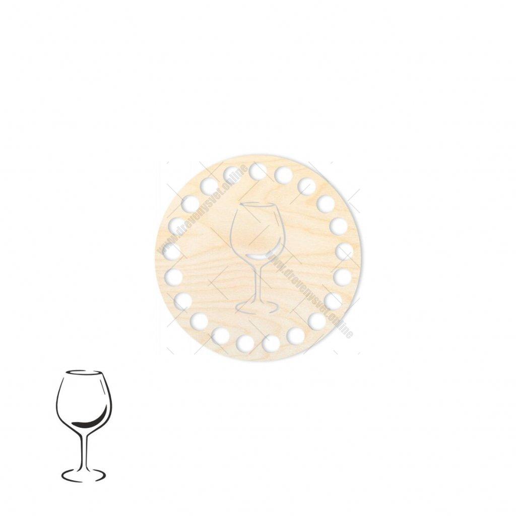 Víko kruh typ 25 překližka