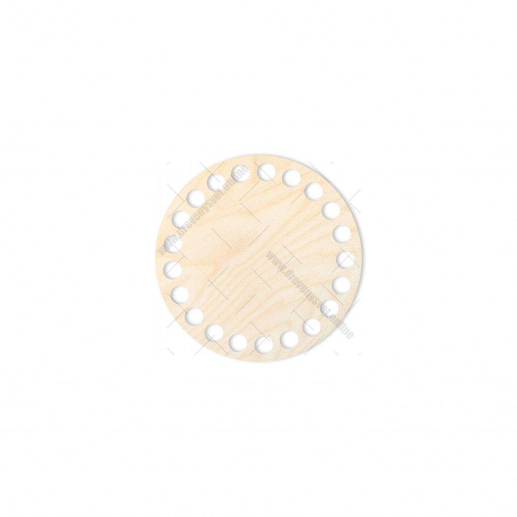 dno kruh 10 cm překližka