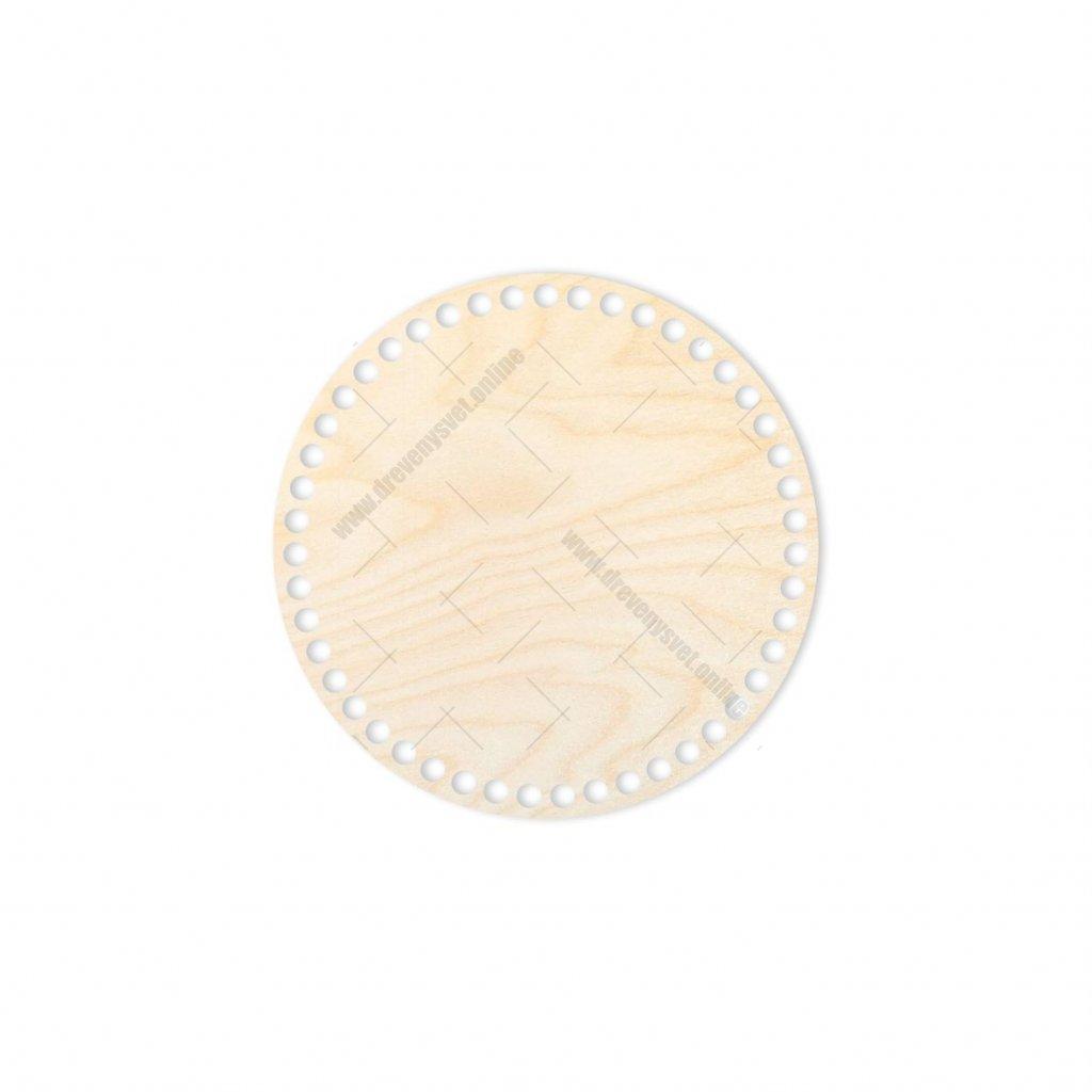 dno kruh 20 cm překližka