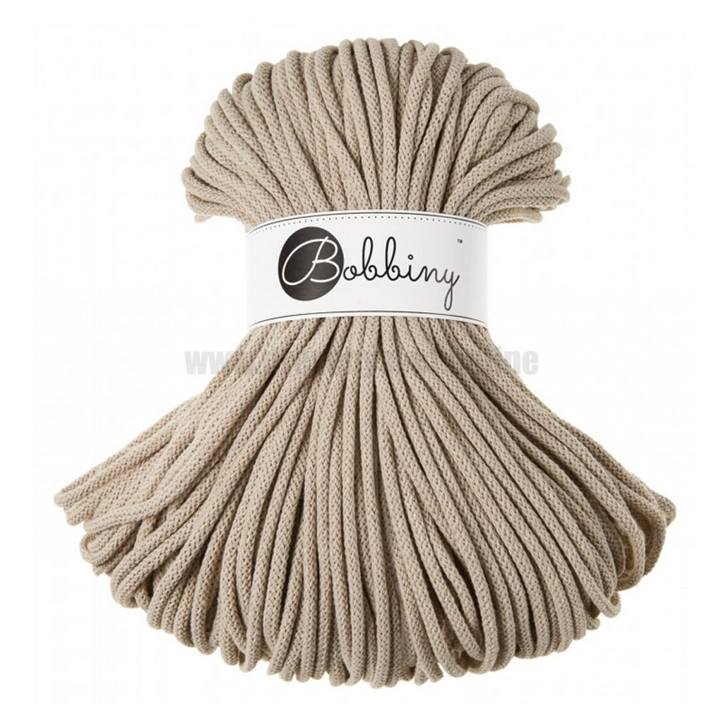 Bobbiny šňůry Premium Písková (Sand)