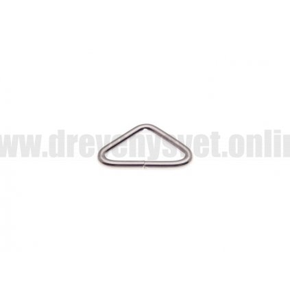 kovovy trojuhelnik 25 12 3 mm nikl drat 100 ks