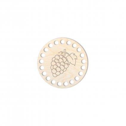 Víko kruh typ 27 překližka