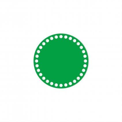 dno kruh 15 cm zelená