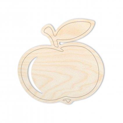Sada jablíček, 5ks, velikost 4cm