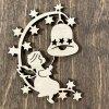 Anděl se zvonem - ozdoba na vánoční stromek