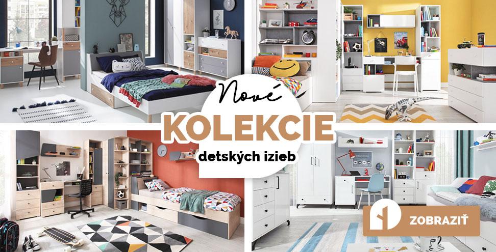 Nové kolekcie detského nábytku na drevko.sk